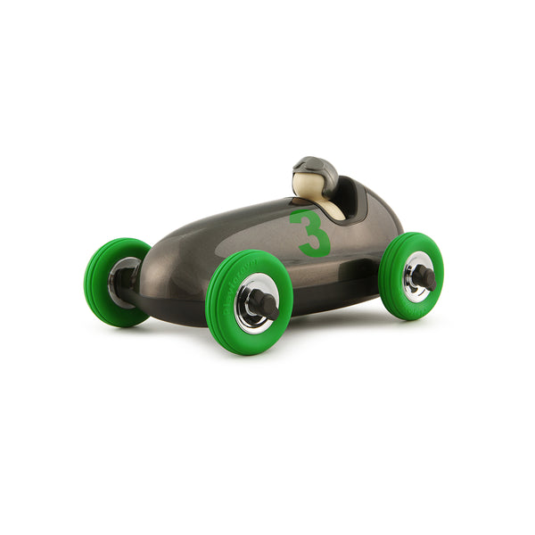 Playforever Bruno Roadster Gun Metal & Green Edition Playforever Children Tenacious Toys®