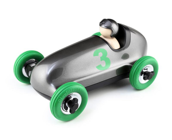 Playforever Bruno Roadster Gun Metal & Green Edition