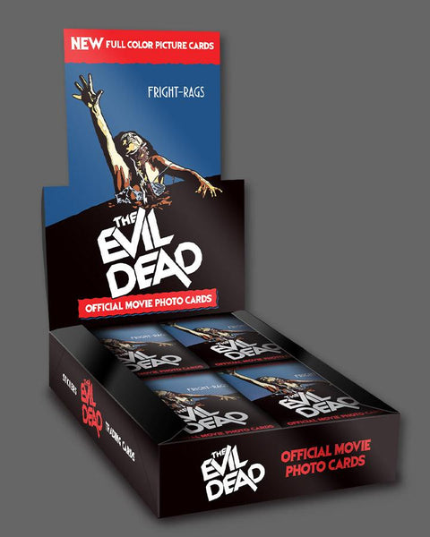 Fright-Rags The Evil Dead Trading Cards Sealed Box by Sidekick Labs Sidekick Labs Trading Cards Tenacious Toys®