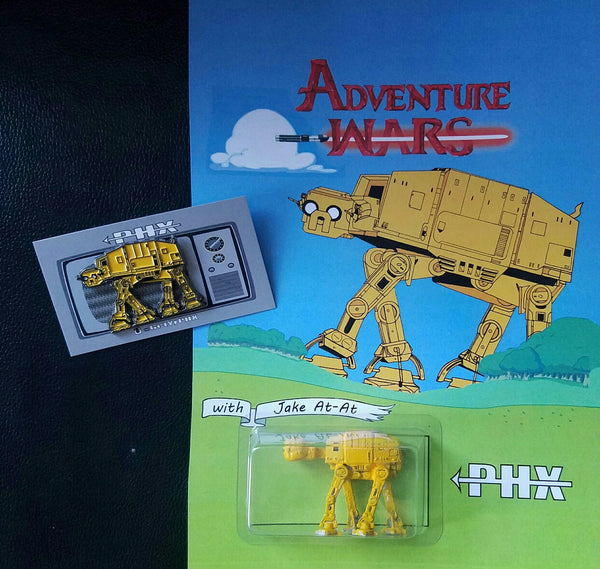 Adventure Wars Jake ATAT Bootleg Action Figure & Pin by PHX - Tenacious Toys® - 1