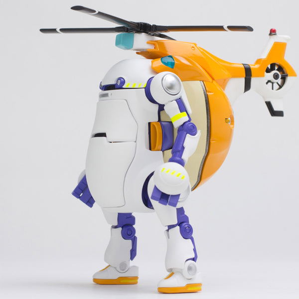 Mechatro 35 WeGo Helicopter & Test 10cm Robot Action Figure PREORDER