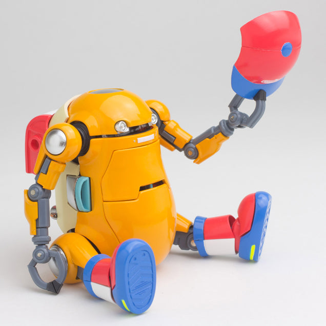 Mechatro 35 WeGo DX Orange 10cm Robot Action Figure WeGo WeGo Tenacious Toys®