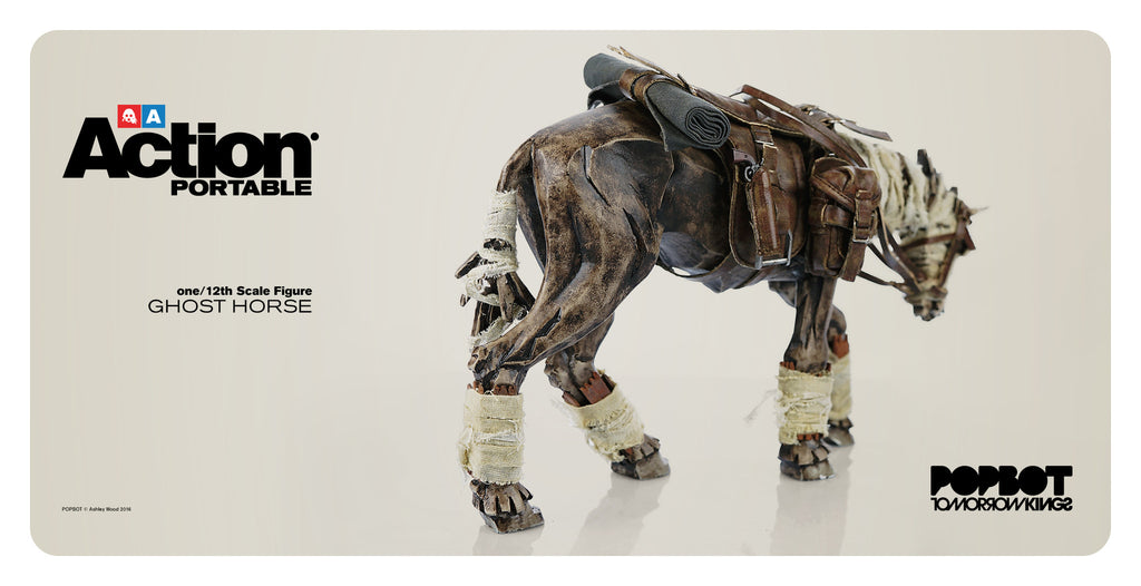 PREORDER 3A Action Portable Wave 2 Ghost Horse - Tenacious Toys®