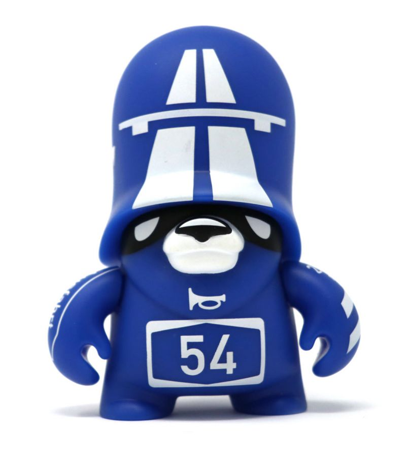 Teddy Troops 2.0 Series 02 Autobahn Trooper 4-inch vinyl figure by Artoyz