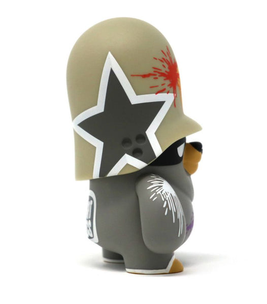Teddy Troops 2.0 Series 02 Basic Farbattacke Trooper 4-inch vinyl figure by Artoyz Artoyz Vinyl Art Toy Tenacious Toys®