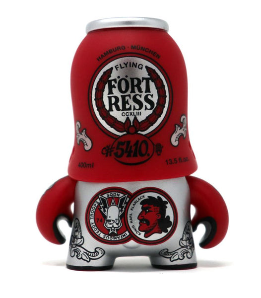 Teddy Troops 2.0 Series 02 Eau de Trooper 4-inch vinyl figure by Artoyz