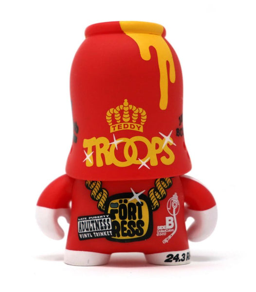 Teddy Troops 2.0 Series 02 Rocksteady Trooper 4-inch vinyl figure by Artoyz
