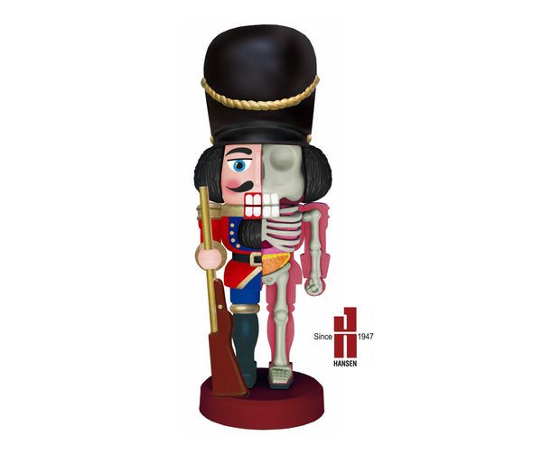 Jason Freeny Nutcracker Toy Soldier Classic Anatomy Figure PREORDER