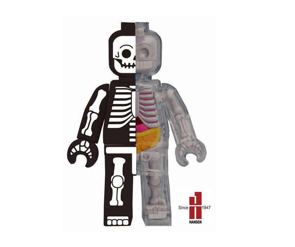 Jason Freeny 5-inch Skeleton Brick Man 4D Anatomy Model PREORDER