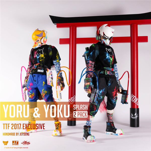 Yoru & Yoku Splash 1:6-Scale Action Figure 2-Pack by JT Studio TTF 2017 Excl