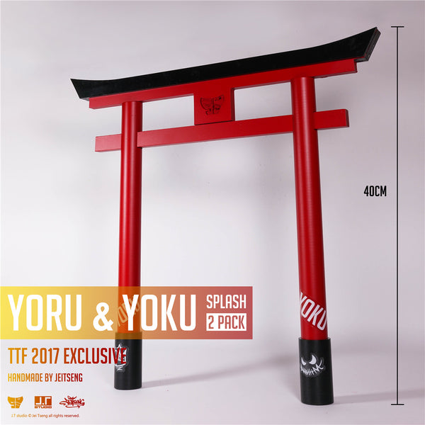 Yoru & Yoku Splash 1:6-Scale Action Figure 2-Pack by JT Studio TTF 2017 Excl JT Studio Action Figure Tenacious Toys®