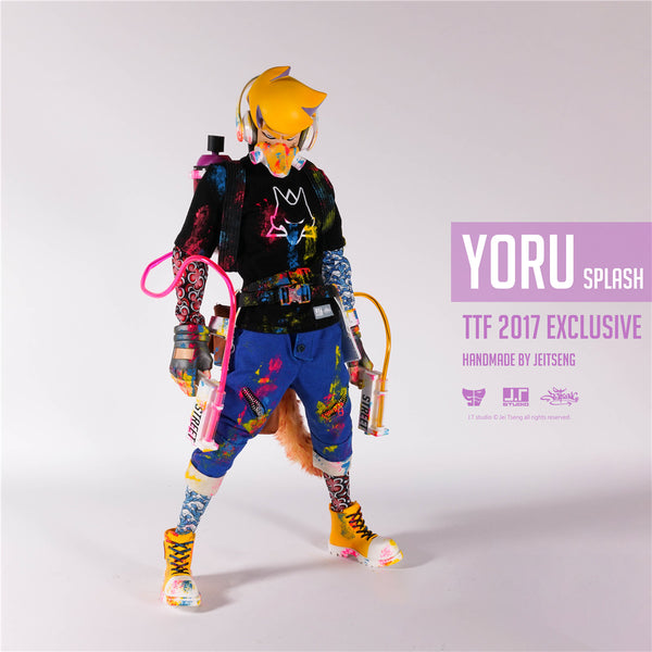 Yoru Splash 1:6-Scale Action Figure by JT Studio TTF 2017 Excl JT Studio Action Figure Tenacious Toys®