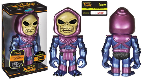 Funko Hikari Masters of the Universe Skeletor Metallic 9-inch vinyl figure #4642