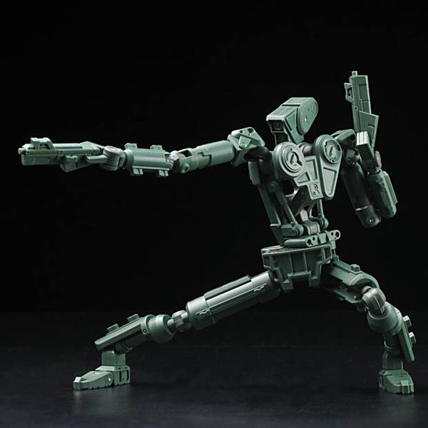 ROBOX Green Unpainted 1/12-scale action figure by 1000toys