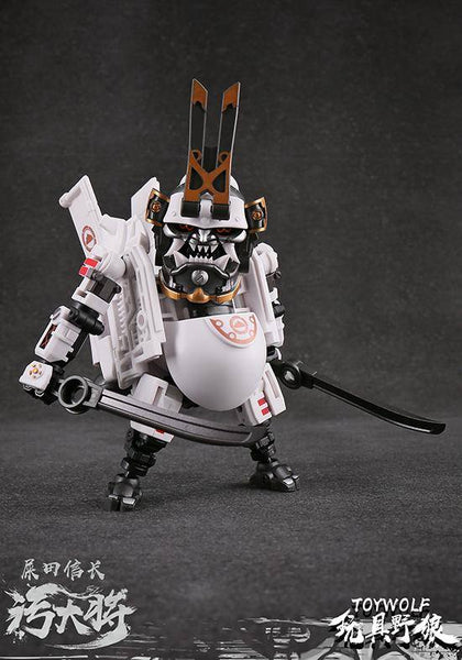 Dirty Man 1/12-scale Transformable Robot Warrior Toilet by Toy Wolf Toy Wolf Action Figure Tenacious Toys®