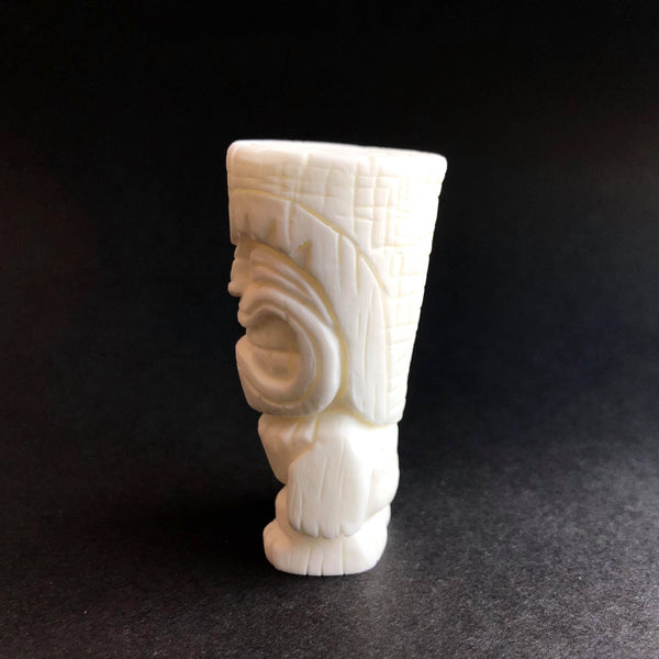 Tenacious Tiki 2-inch DIY White Resin Figure by Mike NEMO Mendez