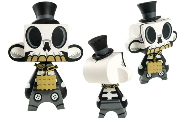 Mad*L Phase 4 Modern Hero 5-inch vinyl figure Grayscale variant MADL Vinyl Art Toy Tenacious Toys®