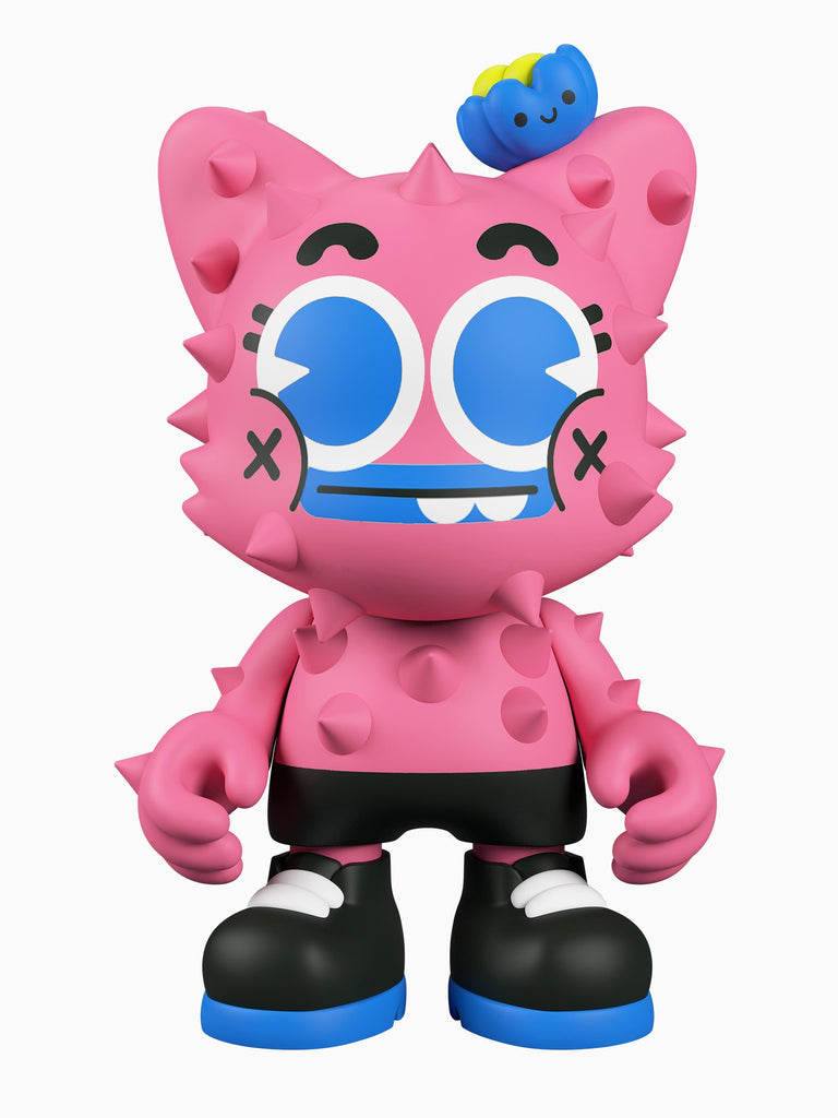 El Grand Chamaco Nopalito Pink 8-inch vinyl SuperJanky by Superplastic Superplastic Vinyl Art Toy Tenacious Toys®