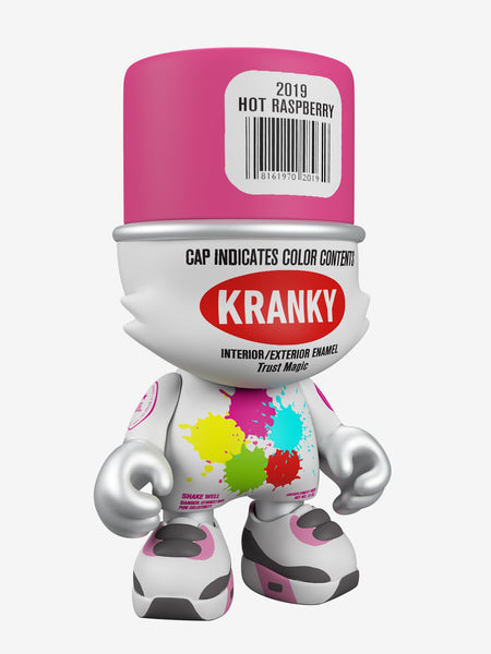 SKET ONE Hot Raspberry SuperKranky 8-inch vinyl figure by Superplastic PREORDER ships January 2020