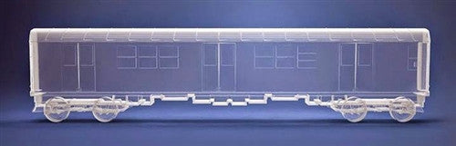 All City Style Ghost Train clear DIY subway train - Tenacious Toys®