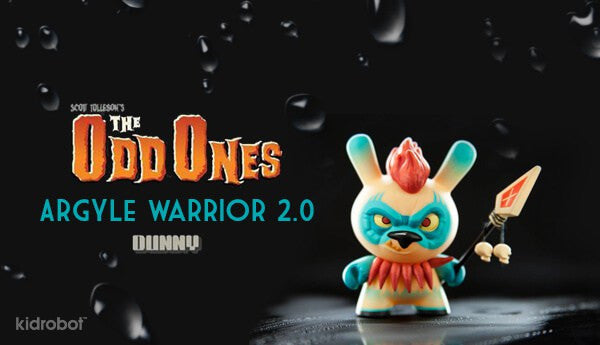 Kidrobot The Odd Ones Dunny Mini Series by Scott Tolleson SEALED CASE PLUS CASE EXCLUSIVE - Tenacious Toys® - 7