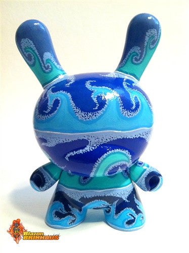 Blazon Brikhaus Swish custom 8-inch Dunny vendor-unknown Custom Tenacious Toys®