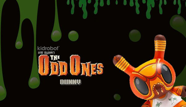 Kidrobot The Odd Ones Dunny Mini Series by Scott Tolleson SEALED CASE PLUS CASE EXCLUSIVE - Tenacious Toys® - 6