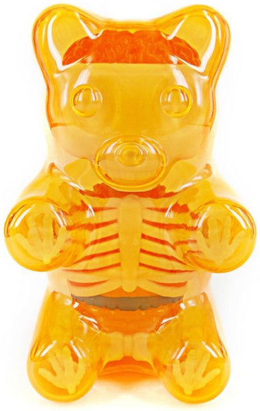 Jason Freeny Baby Clear Gummy Bear Anatomy 4-inch Figure - Tenacious Toys® - 3