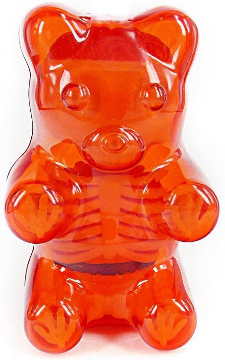 Jason Freeny Baby Clear Gummy Bear Anatomy 4-inch Figure - Tenacious Toys® - 2