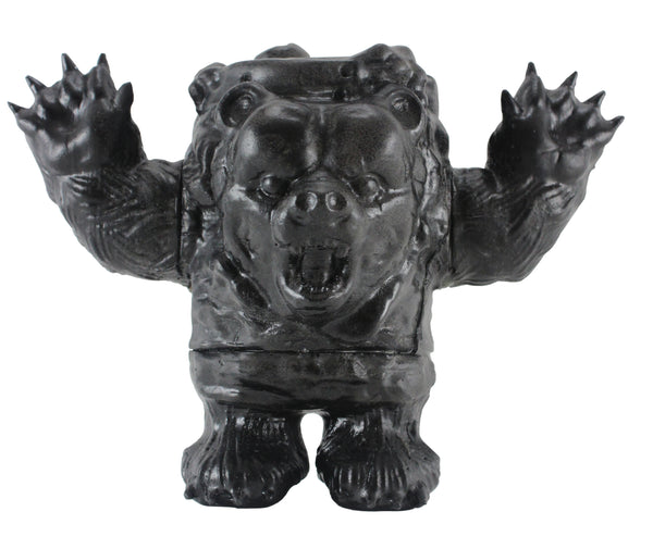 Bearrito Black 5-inch vinyl figure by Bleeding Edges x Diehm 777 Bleeding Edges Vinyl Art Toy Tenacious Toys®