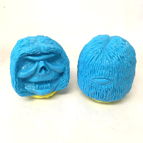 Blank Blue Hagball 3.5-inch sofubi by Rampage Toys Rampage Toys Sofubi Tenacious Toys®