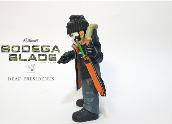 FU-Stamps Bodega Blade 7-inch resin figure Dead Presidents edition FU-Stamps Resin Tenacious Toys®