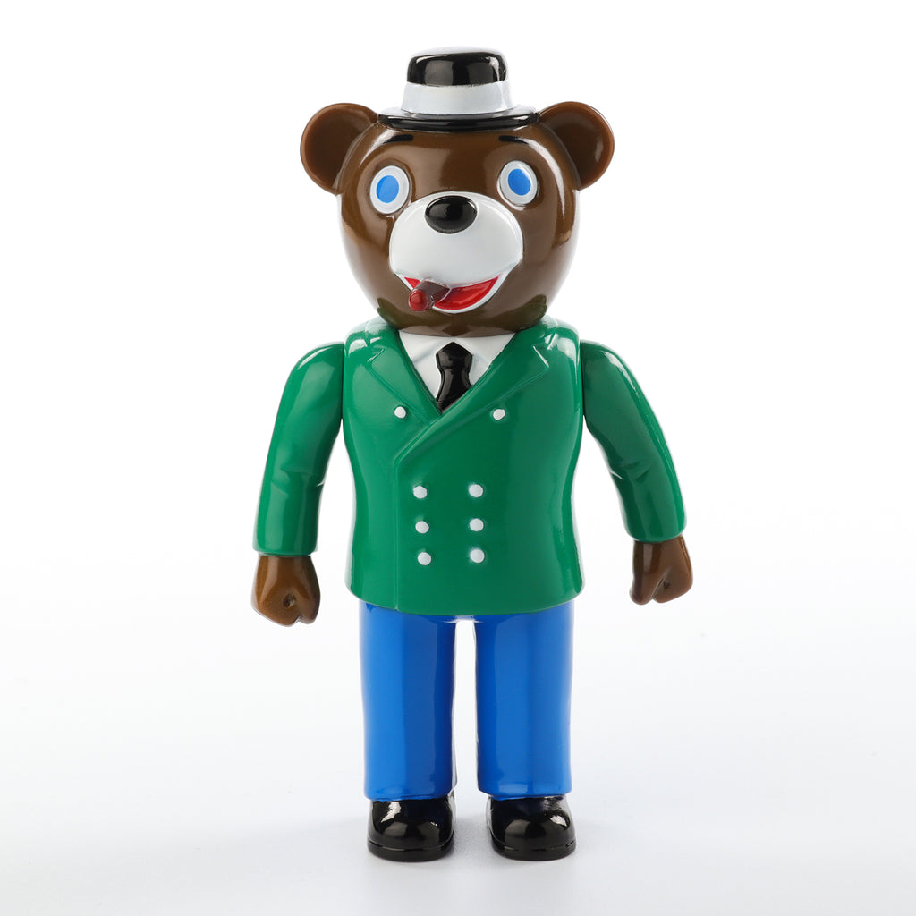 Pointless Island Boss Bear 5-inch vinyl figure by Awesome Toys