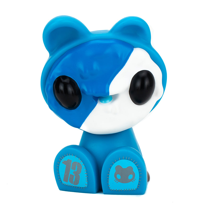 "Czee Cookie Cat Crew Angel Blue Edition 5"" vinyl figure by Clutter Studios Clutter Studios Vinyl Art Toy Tenacious Toys®"
