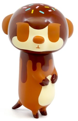 Pupi Chocolate Sprinkles edition 4-inch vinyl figure by keira on the roof