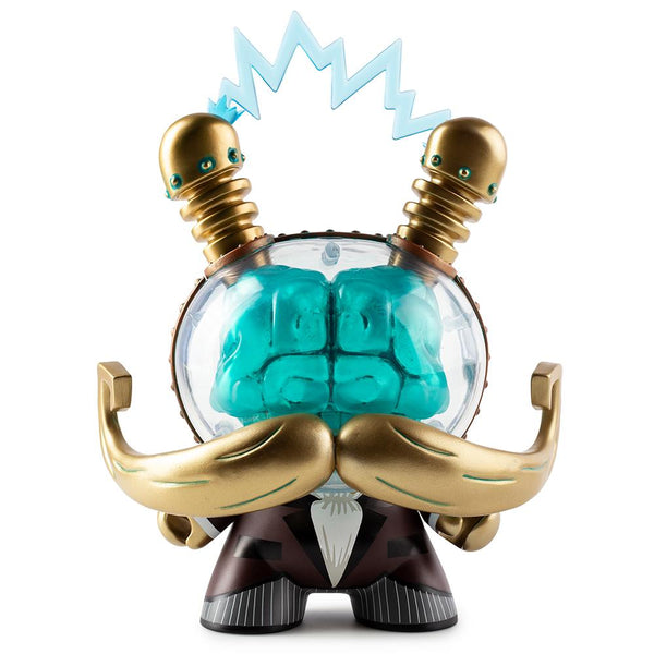 Doktor A Cognition Enhancer Sunday Best Edition 8-inch Dunny by Kidrobot Kidrobot Vinyl Art Toy Tenacious Toys®