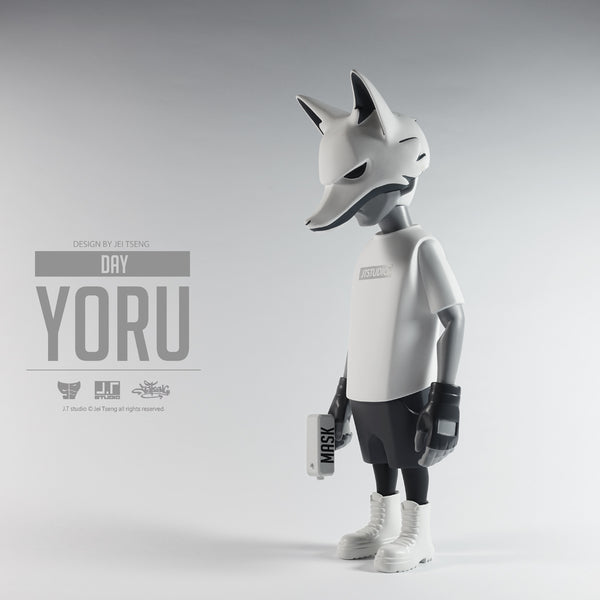 YORU DAY 8-inch Vinyl Action Figure by JT Studio