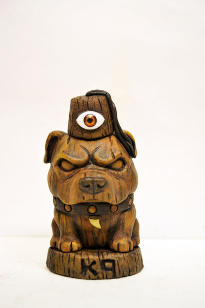 K-9 Tiki Watch Klub 3.5 inch resin custom Danger Dog figure by NEMO NEMO Custom Tenacious Toys®
