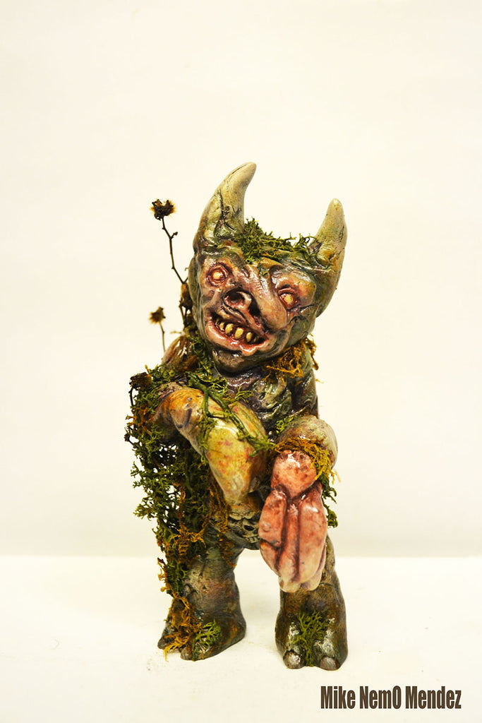 Twisted Swamp Munster 5.5 inch resin figure by NEMO NEMO Custom Tenacious Toys®