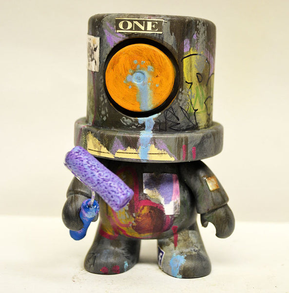I Heart Old New York - ONE Custom SprayeeQ Qee by Mike NEMO Mendez NEMO Custom Tenacious Toys®