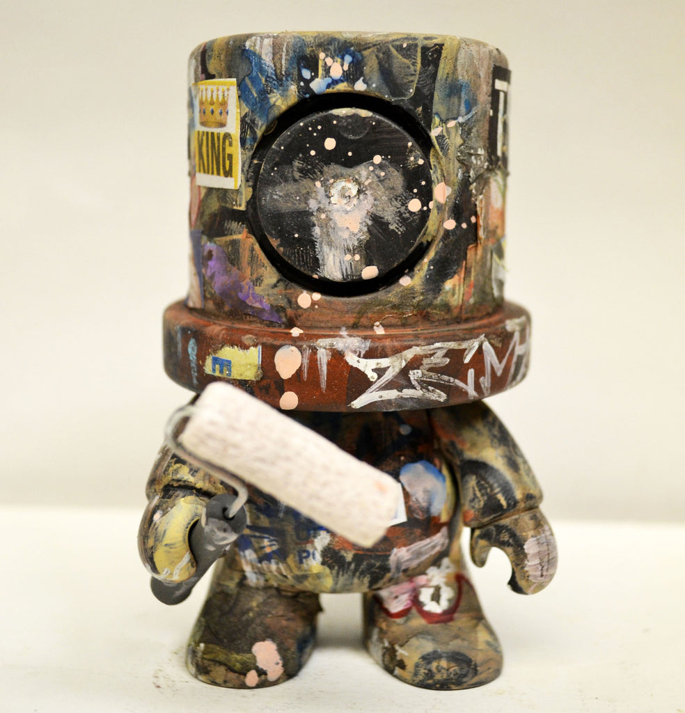 I Heart Old New York - KING Custom SprayeeQ Qee by Mike NEMO Mendez NEMO Custom Tenacious Toys®