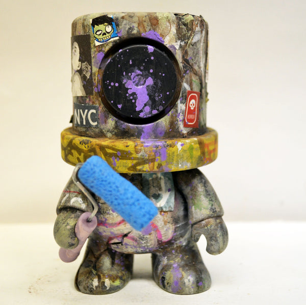 I Heart Old New York - NYC Custom SprayeeQ Qee by Mike NEMO Mendez NEMO Custom Tenacious Toys®
