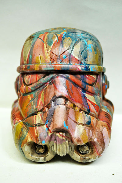 Obey the Streets Custom 5-inch Stormtrooper Helmet by Mike NEMO Mendez