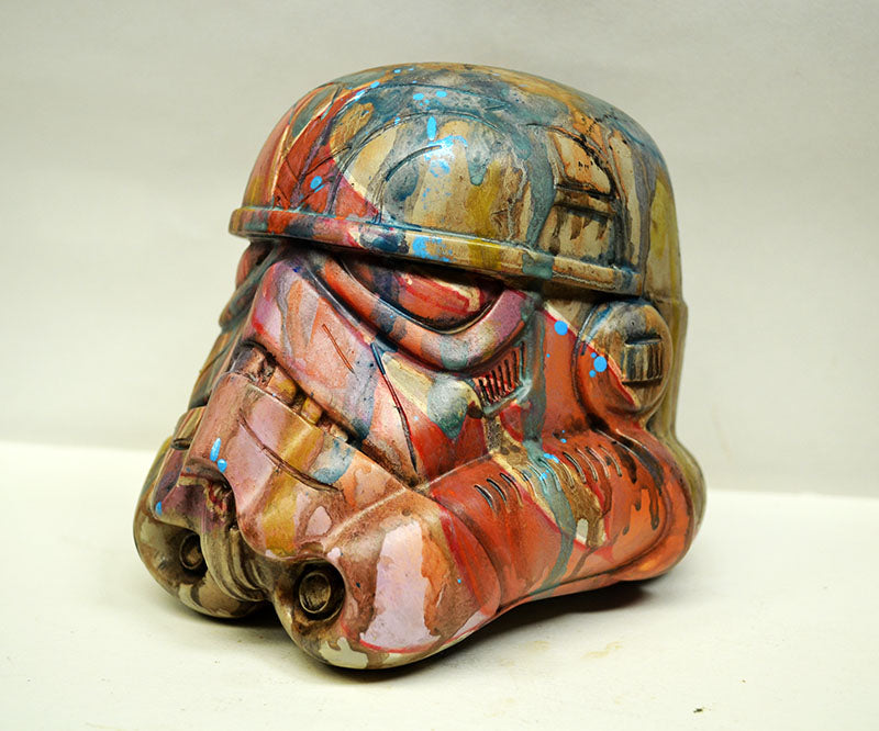 Obey the Streets Custom 5-inch Stormtrooper Helmet by Mike NEMO Mendez NEMO Custom Tenacious Toys®