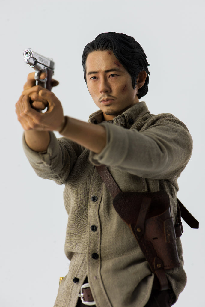 The Walking Dead Glenn Rhee 1/6th Scale Action Figure by ThreeZero 3A 3A Tenacious Toys®