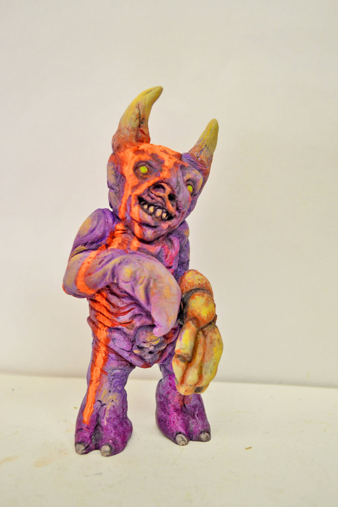 Twisted Monster 5-inch custom resin figure by NEMO NEMO Custom Tenacious Toys®
