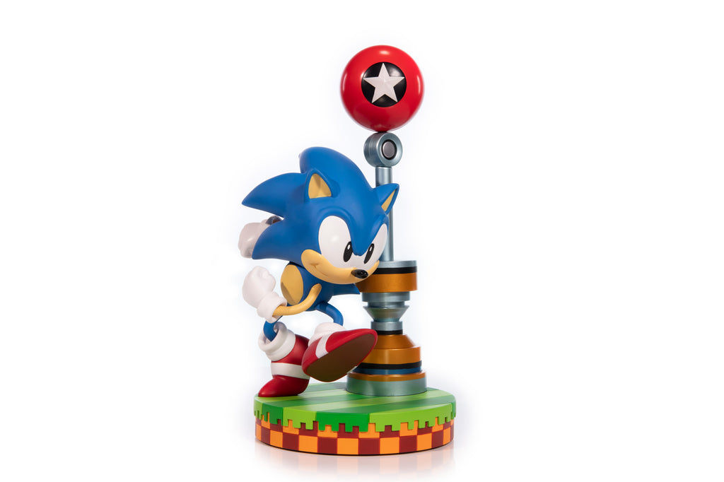 Sonic the Hedgehog 11-inch PVC statue by First 4 Figures PREORDER ships May 2020 First 4 Figures Statue Tenacious Toys®