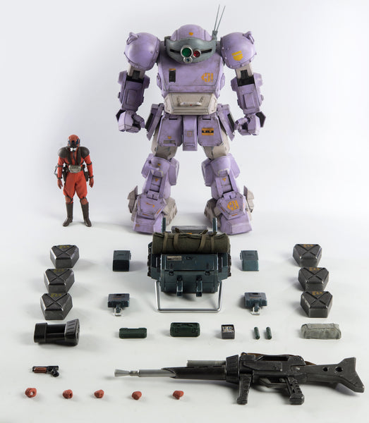 Armored Trooper Votoms Scopedog Melquiya color & Parachute Sack STEALTH VERSION 1:12 scale action figure set by Three Zero ThreeZero Action Figure Tenacious Toys®