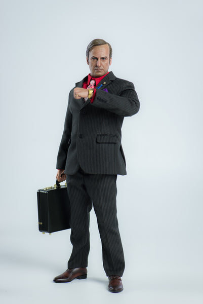 Breaking Bad Saul Goodman 1/6th Scale Collectible Action Figure by Threezero PREORDER