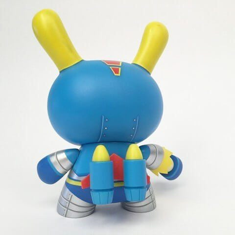 "Kidrobot Dairobo Z 5"" Dunny by Dolly Oblong - Tenacious Toys® - 2"